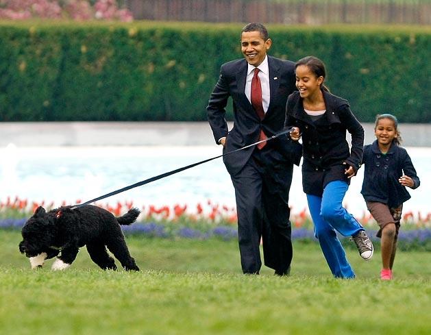 Obama-kids-Bo
